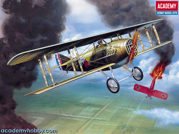 1/72 Spad XIII WWI Fighter