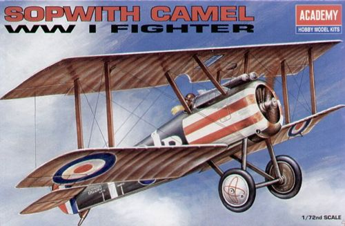 1/72 Sopwith Camel WWI Fighter (1624)