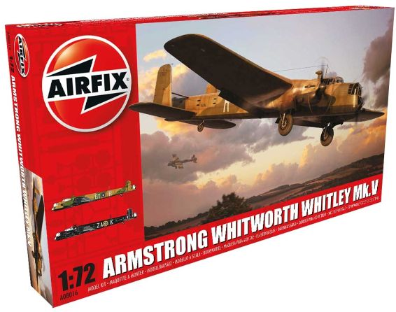 1/72 Armstrong Whitworth, Whitley Mk.V
