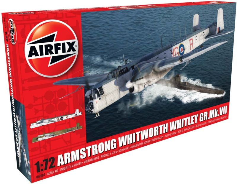 1/72 Armstrong Whitworth Whitley Mk.VII