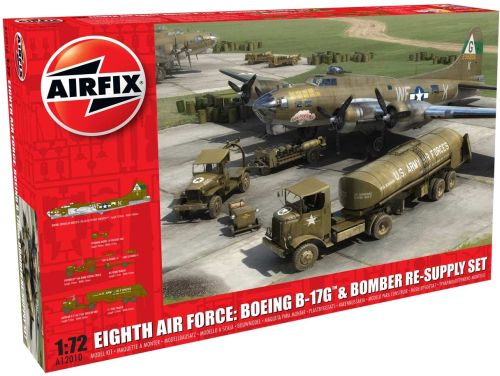 1/72 Eighth Air Force: Boeing B-17 & Bomber Re-supply Set