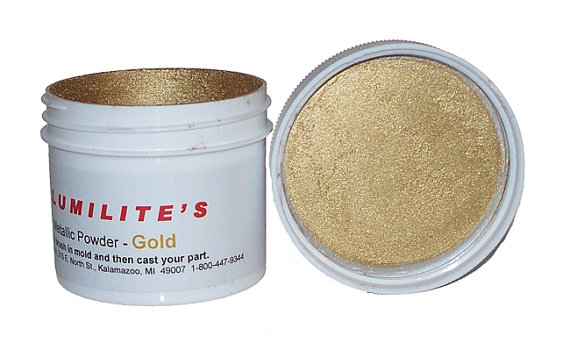 Gold Metallic Powder 1fl. oz.