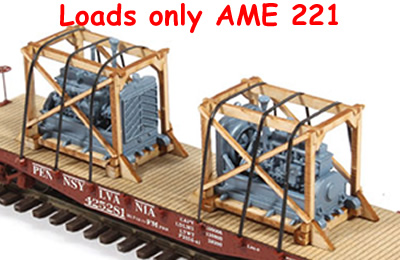Crated Diesel Engine Generator Load 2 pack Laser Cut
