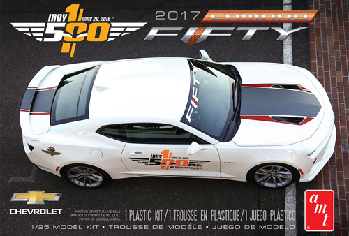 1/25 2017 Camero Fifty Pace Car