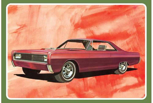 1/25 1966 Mercury Hardtop Car