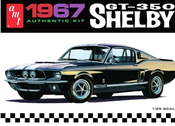 1/25 1967 Shelby GT350 Car (Black)