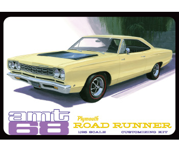 1/25 1968 Plymouth Roadrunner
