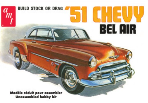 1/25 1951 Chevy Bel Air Car