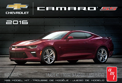 1/25 2016 Chevy Camaro SS - Red