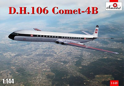 1/144 DH106 Comet 4B Passenger Airliner