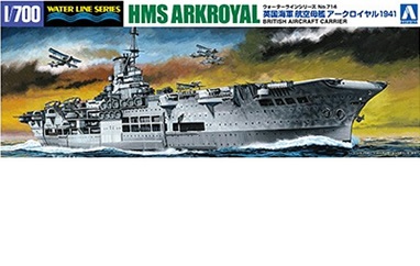1/700 HMS Ark Royal 1941