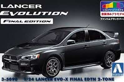 1/24 Lancer Evo-X Final Edition 2-Tone
