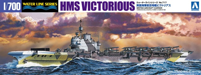 1/700 HMS Victorious RN Carrier