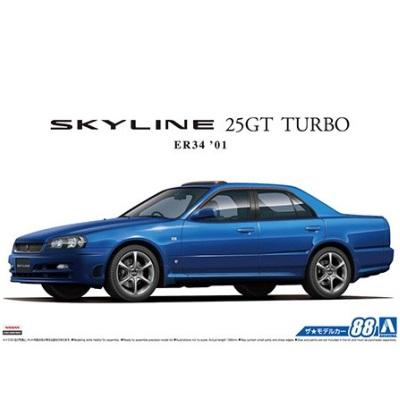 1/24 ER34 Skyline 25GT Turbo '01