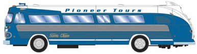 HO RTR Intercity Bus, Pioneer #1