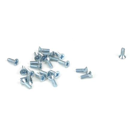 Flat Head Screw, 2-56 x 1/4