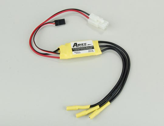 18-Amp Brushless Motor ESC G370