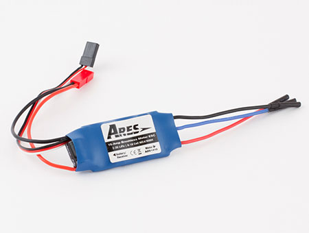 15-Amp Brushless Motor ESC, JST Connecto