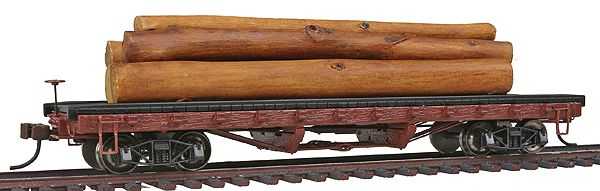 HO ACF 40' Log Car with Logs 1906-1935