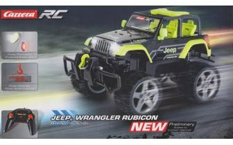 1/16 Jeep Wrangler Rubicon, Green