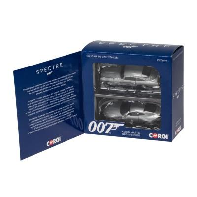 1/36 James Bond Aston Martin DB10 and DB5 - 'Spectre' twin pack