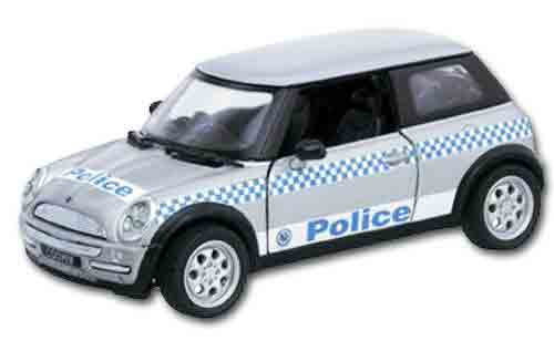 BMW Mini Cooper NSW Police