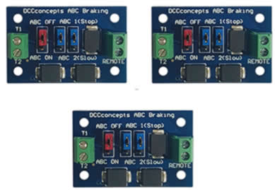 ABC Slow or Stop Modules (3 pack)