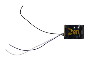 Zen Black Decoder: Versatile 8 and 21 MTC Connection 6 Full power functions