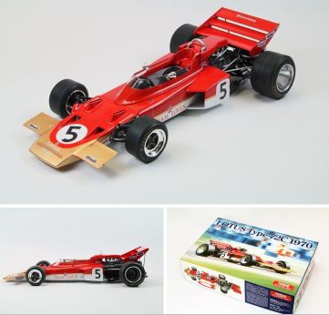 1/20 1970 Lotus Type 72C Team Lotus F1 R