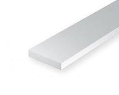 0.28 x .5mm White strip (10 pce)