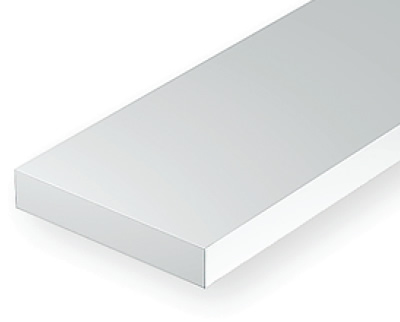 0.28 x .75mm White strip (10 pce)