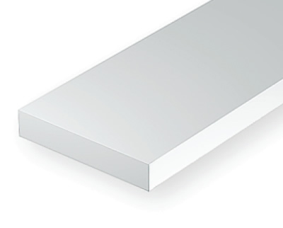 0.25 x 4mm White strip (10 pce)