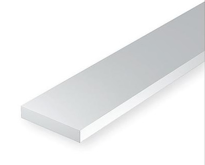 0.42 x 0.75mm White strip (10 pce)