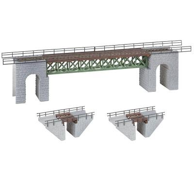 HO Narrow Gauge Bridges