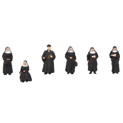 HO Nuns and Parson