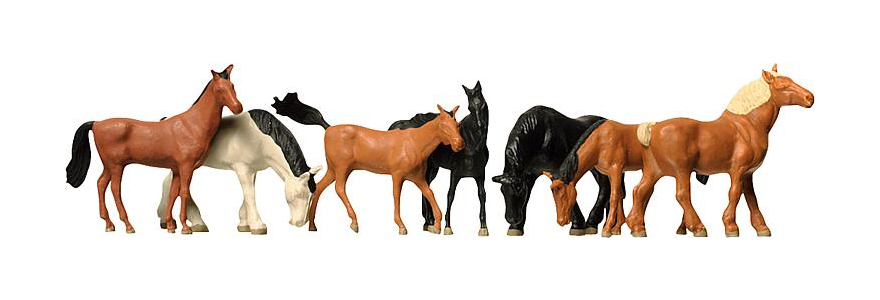 HO Horses, Assorted