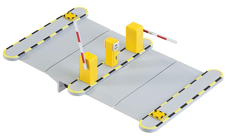 HO Automated Parkiung Barriers