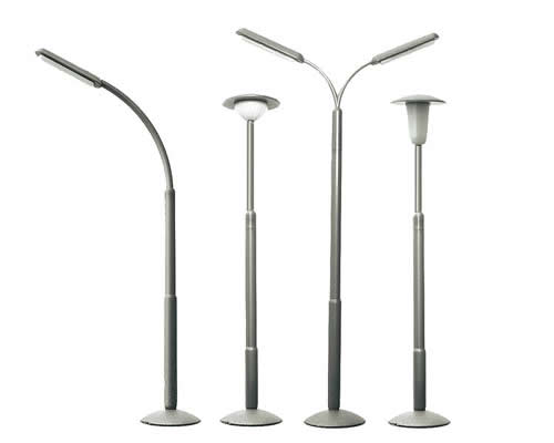 HO Streetlamp Set (26 Pce)