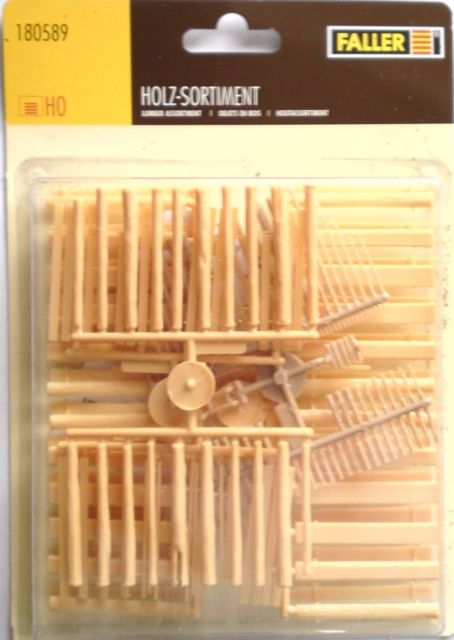 HO Lumber Assortment