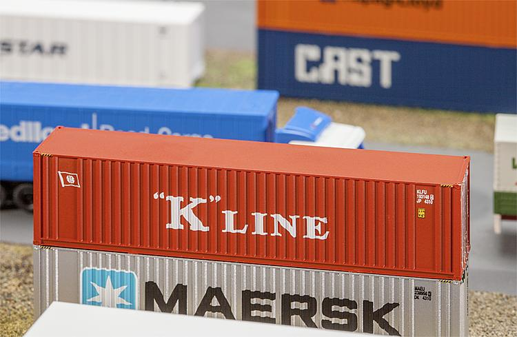 N  40' Hi-Cube Container K-LINE