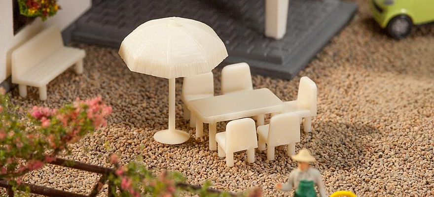 N  Tables, Chairs, Sunshades