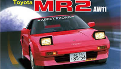 1/24 Toyota MR-2 AW11 Supercharger