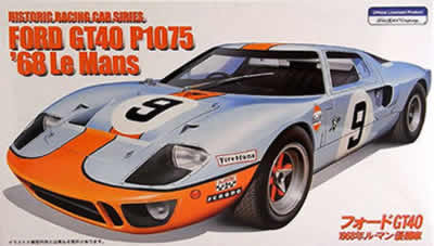 1/24 Ford GT40 1968 Le Mans