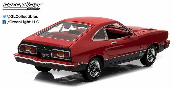 1/18 Ford Mustang II Mach I Red/black