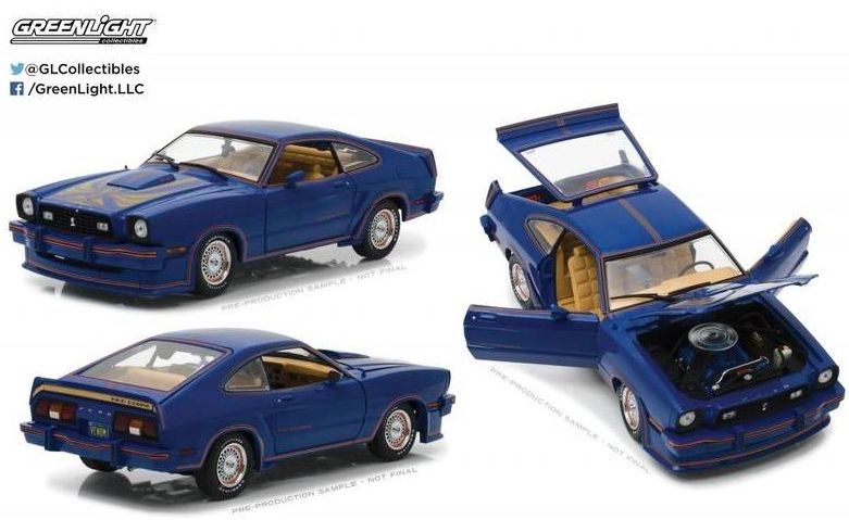 1/18 1978 Ford Mustang II King Cobra