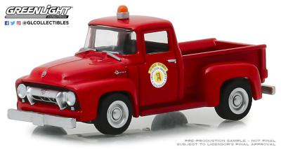 1/64 1954 Ford F-100 Red