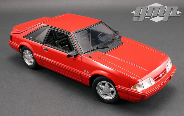 1/18 Ford Mustang LX Vermillion Red