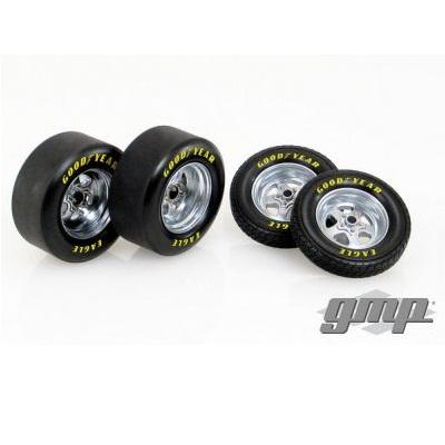 1/18 1320 Drag Wheel and Tire Pack