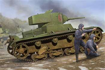 1/35 Soviet T-26 Light Infantry Tank Mod