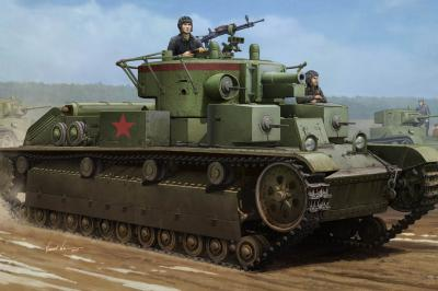 1/35 Soviet T-28 Medium Tank (Welded)